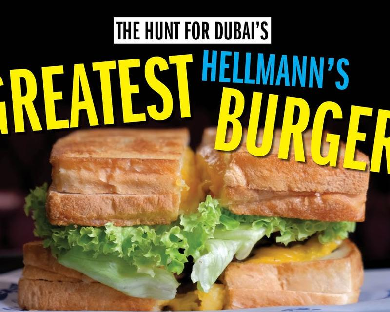 Time Out Checks Out Dubai's Biggest Grilled Cheese Double Cheeseburger