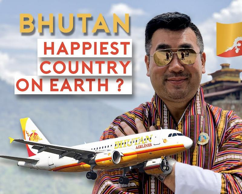 Sam Chui Travels To Bhutan To Find Out If It's The Happiest Country On Earth