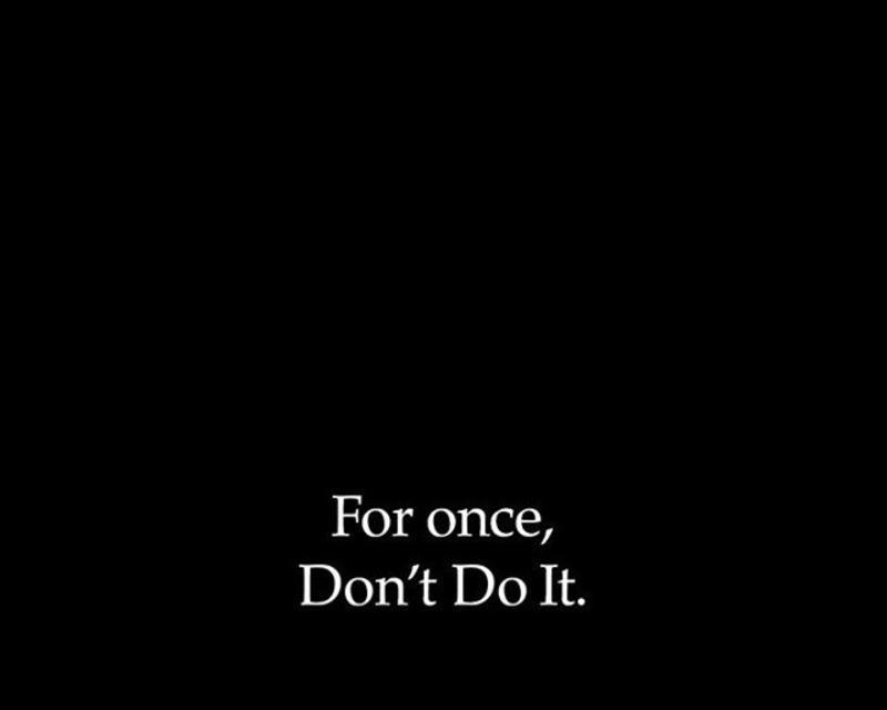 Nike is saying 'Don't Do It'