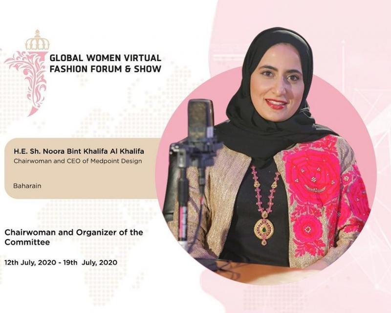 The Global Women Virtual Fashion Forum & Show gives women a platform to learn, grow & thrive