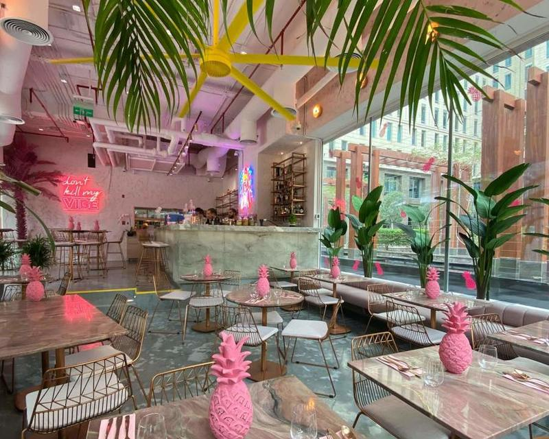 FIVE INSTAGRAMMABLE CAFES IN DUBAI