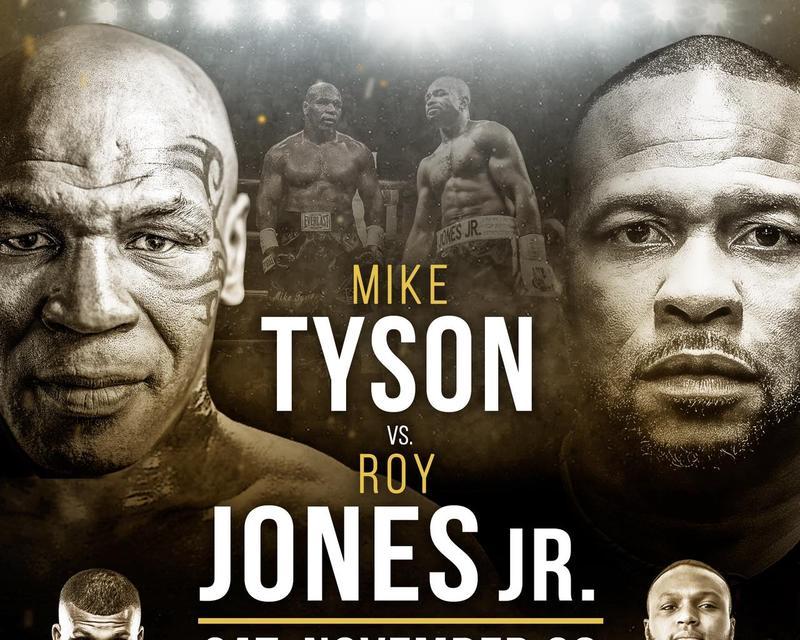 LIVE ON TRILLER: MIKE TYSON VS. ROY JONES JR