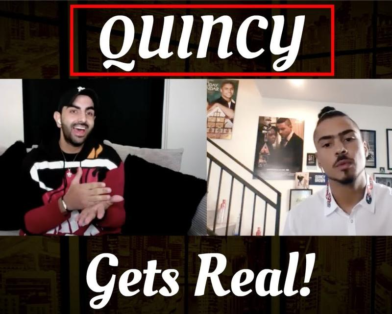 Quincy gets candid about life in latest episode of Uncut with S1!